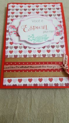Cartão para o dia dos namorados