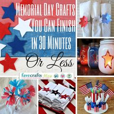 8 DIY Party Decorations You Can Make For Memorial Day in 30 Minutes or Less