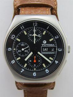 // Tutima Military Chronograph