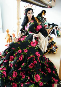 Vintage Flamenco doll