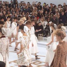 Final Walk at Chanel Haute Couture 2014/15