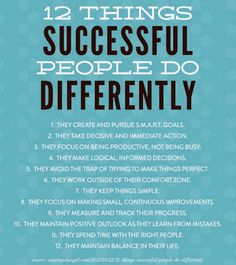 Successful Entrepreneurs Never Dreamed About Success, They Go Out And Worked For It! Find Out 12 Things Successful People Do Differently Which Can Bring Your SUCCESS One Step Closer. Stay Knowledgeable With Your Journey Towards Success. Business Intelligence, Great Quotes, Quotes To Live By, Awesome Quotes, Life Quotes, Monday Quotes, Simple Quotes, Wisdom Quotes, Mantra
