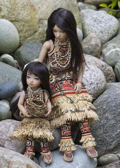 Fancy Footwear ~ Native American Dolls