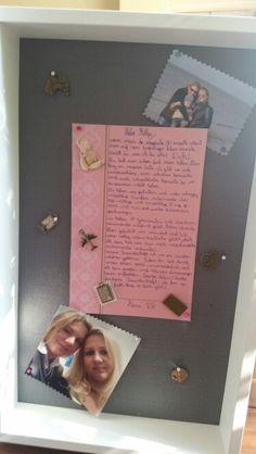 Kreativ Rahmen zum Geburtstag für die beste Freundin ♡