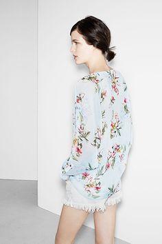 Zara Summer 2013 Lookbook