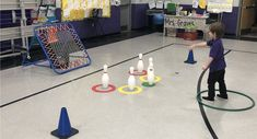 """Cardio Drumming Activity for Grades K-5 - """"Baby Shark"""" Theme - S&S Blog Elementary Physical Education, Elementary Pe, Fitness Activities, Physical Activities, Fitness Games, Kids Fitness, Brain Activities, Motor Activities, Cardio Drumming"""