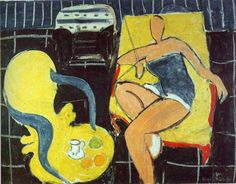 "Henri Matisse ""Dancer And Armchair"" 1942"