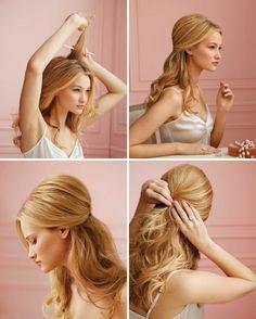 coiffure-année-50-tutoriel-cheveux-blonds-bague-maquillage-naturelle-levres-couleur-peau