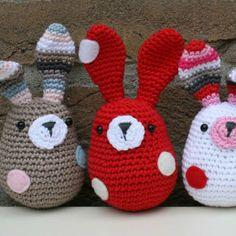 Mesmerizing Crochet an Amigurumi Rabbit Ideas. Lovely Crochet an Amigurumi Rabbit Ideas. Easter Crochet, Crochet Bunny, Love Crochet, Crochet Animals, Diy Crochet, Crochet Patterns Amigurumi, Crochet Blanket Patterns, Crochet Dolls, Crochet Hats