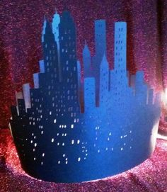 DIY New York skyline centerpiece by hilemanhouse on Etsy