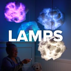 These Lamp Projects Are Mesmerizing #lamps #light #DIY #hacks #color #home