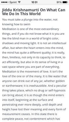 Jiddu Krishnamurti J Krishnamurti Quotes, Jiddu Krishnamurti, Meditation Quotes, Mindfulness Meditation, Wisdom Quotes, Life Quotes, Alice White, Stephen Covey, The Secret Book