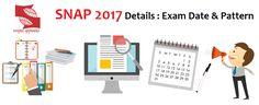 MBAUniverse: SNAP 2017 Exam on December 17: Registration Date o...