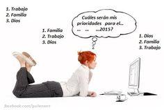 Elige el Orden de Tus prioridades!!!
