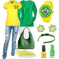 BRASIL / Look Copa - http://tfcnacopa.com/orgulho-em-usar-azul-verde-e-amarelo/