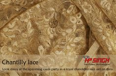 Chantilly Lace- As beautiful as it looks!