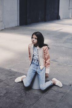 Luna magazine - Photo Melanie Rodriguez -style Deborah Sfez - Grooming Aurelie Deltour