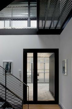 perforated sheet metal interior design transparency style