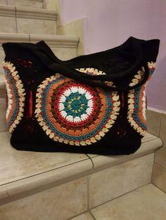 Patterned women& handbags and how to make it «home knitting, baby knitting, knitting . - 18 Ideas for Purses - Crochet Market Bag, Crochet Tote, Crochet Handbags, Cute Crochet, Knit Crochet, Women's Handbags, Crochet Summer, Crochet Shell Stitch, Crochet Stitches