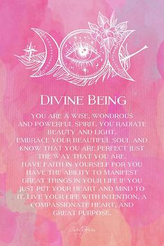 Divine Being by CarlyMarie. Now, if only I could be sure what my purpose is.