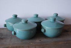 Vintage Denby Soup Bowls /Tureens