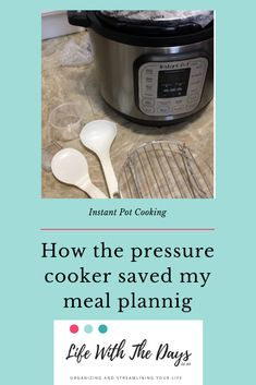 Pressure cooker meal prep - how the instant pot saved my meal planning (and sani. - Real Time - Diet, Exercise, Fitness, Finance You for Healthy articles ideas Meal Prep For The Week, A Day In Life, Best Blogs, Pressure Cooker Recipes, Easy Meals, Easy Recipes, Instant Pot, Meal Planning, Prepping
