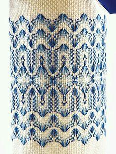 Huck Embroidery / Punto Yugoslavo / Swedish Weaving / Bordado Vagonite