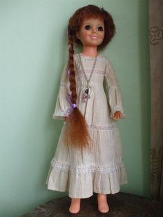 Movin Groovin Ideal Crissy doll 1971 in labelled Crissy dress | eBay