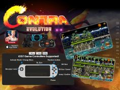 Contra Evolution MFi Controls Click Pic to link direct to iTunes