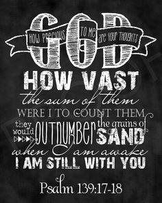 psalm 91 chalk lettering - Google Search