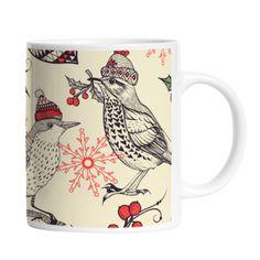 Kubek Winter Birds, 375 ml | Bonami