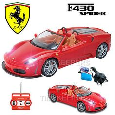 1:20 #ferrari f430 #spider rechargeable rc radio remote #control car ep rtr,  View more on the LINK: http://www.zeppy.io/product/gb/2/262075411397/