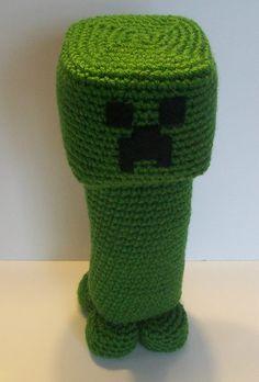 Minecraft Creeper Amigurumi Inspired