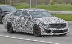 2016 Cadillac CTS-V Spy Photos Hint at Turbocharged Power. For more, click http://www.autoguide.com/auto-news/2014/05/2016-cadillac-cts-v-spy-photos-hint-at-turbocharged-power.html