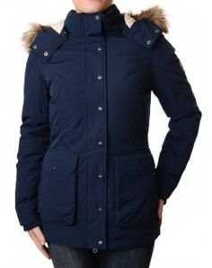 Tommy Hilfiger  Navy Olga Down Parka Save up to 50% Off at Accent Clothing using Discount and Voucher Codes.