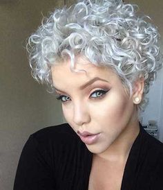 15 Nice Short Natural Curly Hairstyles | http://www.short-haircut.com/15-nice-short-natural-curly-hairstyles.html                                                                                                                                                     More