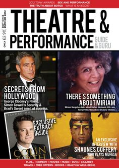 Theatre and Performance  Magazine - Buy, Subscribe, Download and Read Theatre and Performance on your iPad, iPhone, iPod Touch, Android and on the web only through Magzter