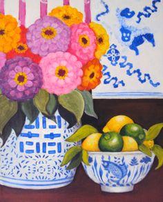 Work in Progress. Acrylic on canvas by Sofia Martha