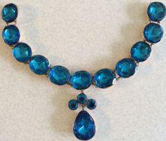 Queen Anne necklace gilt metal c 1740-60