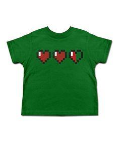 Look at this #zulilyfind! Kelly Green Lives Tee - Toddler & Kids #zulilyfinds