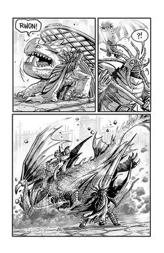 Dragon Trappers P.18 by rufftoon.deviantart.com on @deviantART