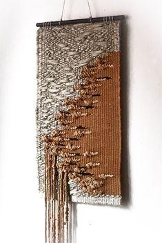 Woven wall hangings, woven wall art by OneLoomStory Happy Mom, Weaving Art, Woven Wall Hanging, Wabi Sabi, Basket Weaving, Textile Art, Fused Glass, Wall Art Decor, Poland