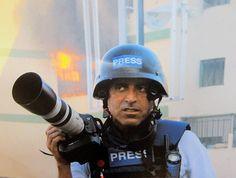 Medyan Dairieh, war correspondant for Al-Jazeera