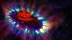 Fotografían una impresionante supernova que fabrica polvo