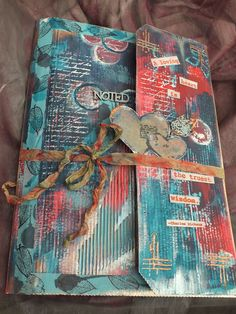 PaperArtsy: Gift Folder {with Eclectica³ Sara Naumann and Darcy UK stamps by Julie Ann Lee}