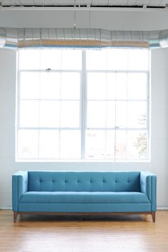 Atwood Sofa in Muskoka Surf at Pigment - Now 20% OFF During the Gus Summer Sale #gusmodern #gussummersale