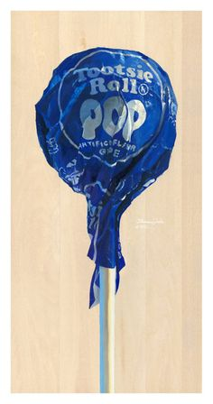 Tootsie Roll Pop by Thomas Webb.  I've been waiting for this to be available in his shop! LOVE!! and Purchased!