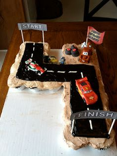 All It's Caked Up To Be | Cars 2 cake i made for my little cousin's 4th birthday!