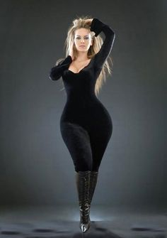 Love the body God has BLESSED you with. Dont spend your life trying to be something or someone you are not created to be. Be the best YOU that you can be. Embrace your attributes and quit concentrating on your flaws...GOD DOESNT MAKE JUNK! Go on thick curvy woman, you are beautifully & wonderfully made.
