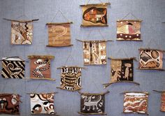 Aboriginal Australian bark painting